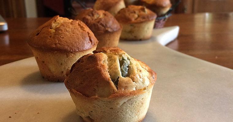 Muffins aux courges suries et kéfir de lait
